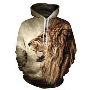 Other - 🔥NEW🔥 Lion 3D Printed Hoodie Sweatshirt
